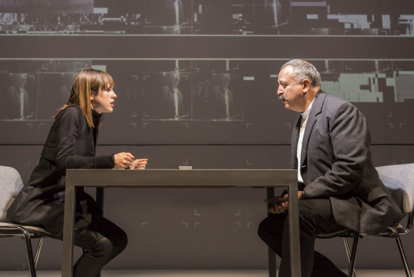 'It feels convincing': Amanda Hale and Stanley Townsend in The Nether