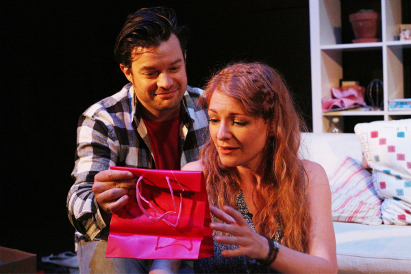 Simon Bailey and Laura Pitt-Pulford in Marry Me A Little