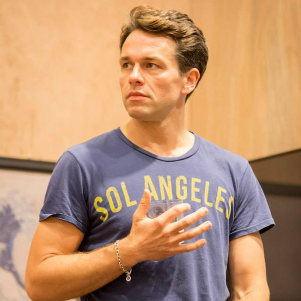 Julian Ovenden in rehearsals for My Night With Reg