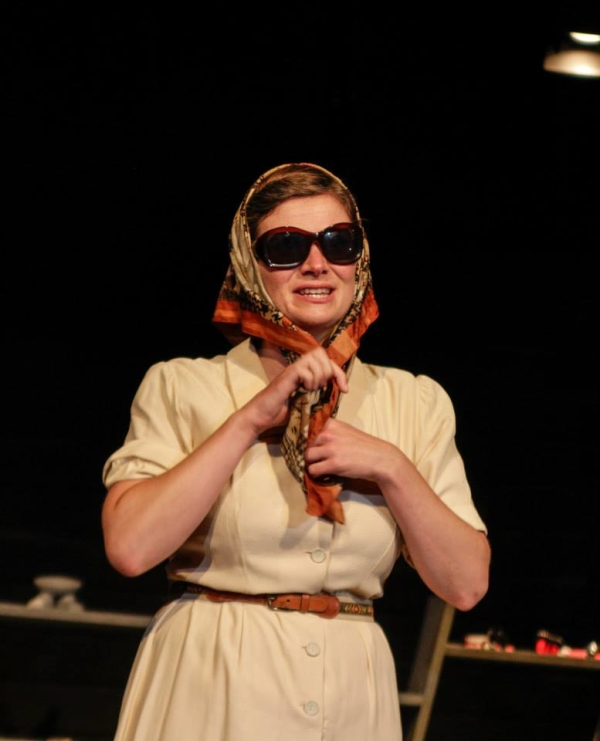 Kirsty Cox (Svetlana) in Blue Blood's Production of Stalin's Daughter
