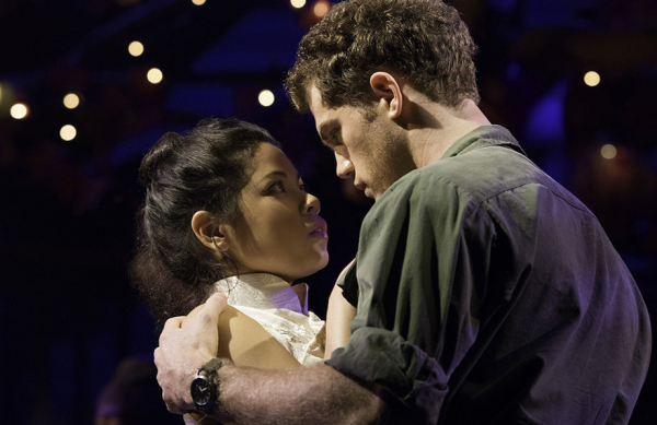 Eva Noblezada and Alistair Brammer in Miss Saigon