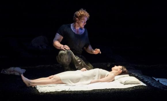 Duncan Rock as Tarquinius in Glyndebourne's WhatsOnStage Opera Poll-winning production of Britten's The Rape of Lucretia