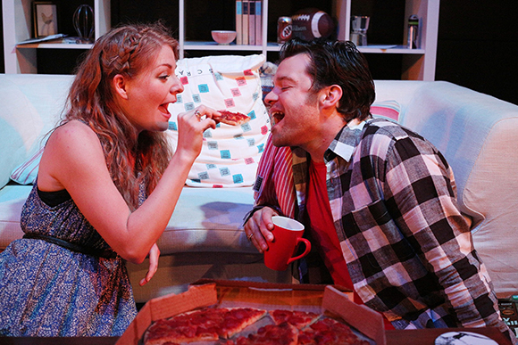 Laura Pitt-Pulford and Simon Bailey in Marry Me a Little