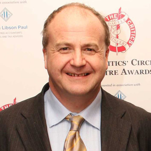Charles Spencer at the 2006 Critics' Circle Awards