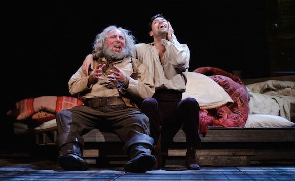 Friends reunited: Antony Sher and Alex Hassell in Henry IV Part I