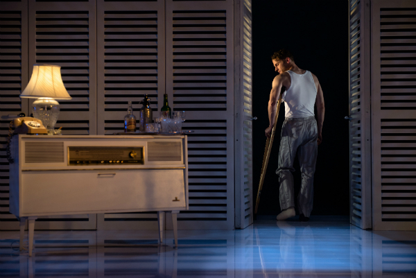 Charles Aitken as Brick in Cat On a Hot Tin Roof