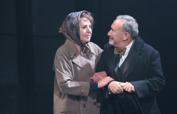 Penelope Wilton as Irmgard and Allan Cordnuer as Fritz