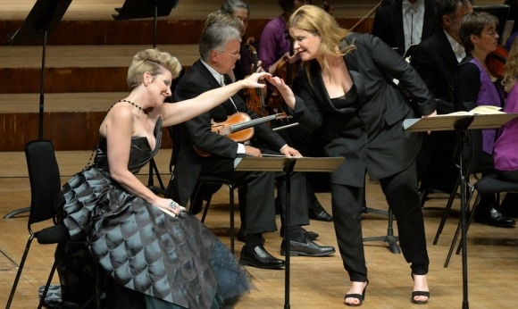 Joyce DiDonato as Alcina and Alice Coote as  Ruggiero in Handel's Alcina (Barbican)