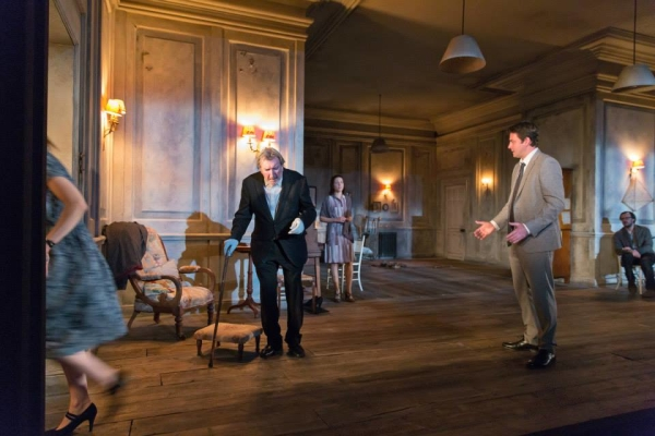 Gawn Grainger and Dominic Rowan in The Cherry Orchard