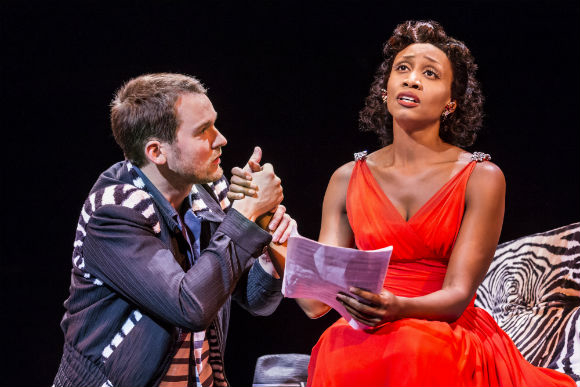 Killian Donnelly as Huey and Beverley Knight as Felicia
