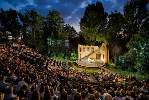 open air theatre stages peter pan and seven brides for