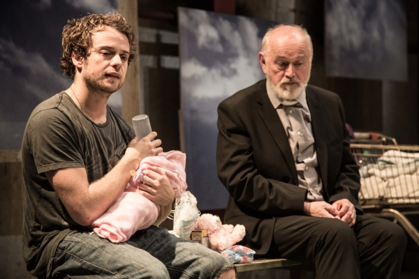 Alex Waldmann and Peter Egan in Jonah and Otto