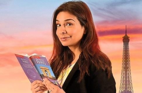 Shobna Gulati in her previous stage play April in Paris