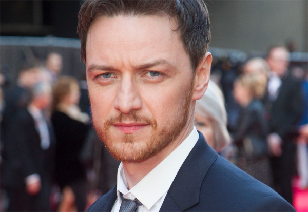 James McAvoy plays the fictional 14th Earl of Gurney