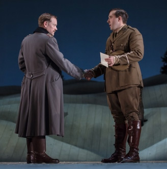 Nick Haverson and Joseph Kloska in The Christmas Truce