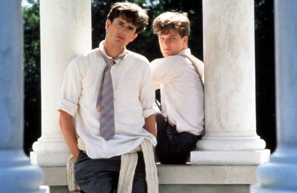 'Ivoried Ganymede' Rupert Everett and Colin Firth in the 1984 film of Another Country