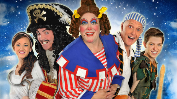 The cast of Peter Pan at Theatre Severn, Shrewsbury