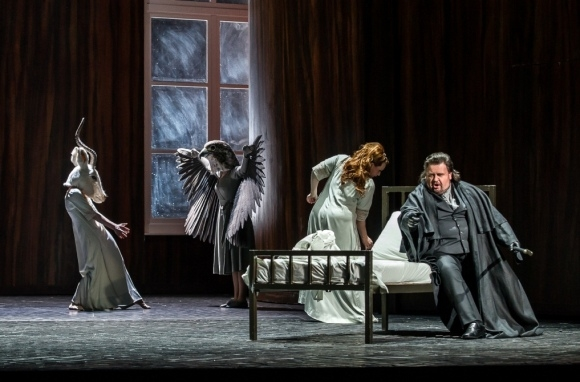 Emily Magee and Johan Botha in Die Frau ohne Schatten (ROH)