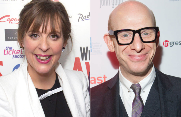Dream team: Mel Giedroyc and Steve Furst