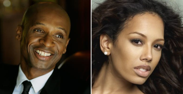Andy Abraham and Jade Ewen
