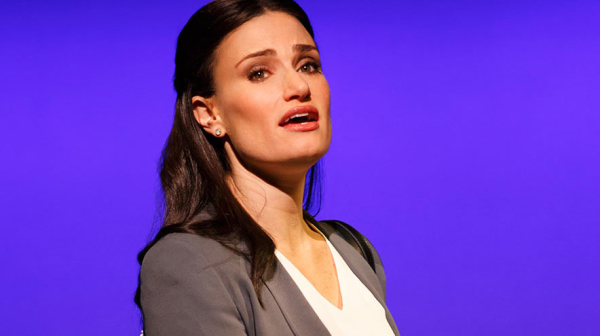 Idina Menzel in If/Then which is currently on Broadway