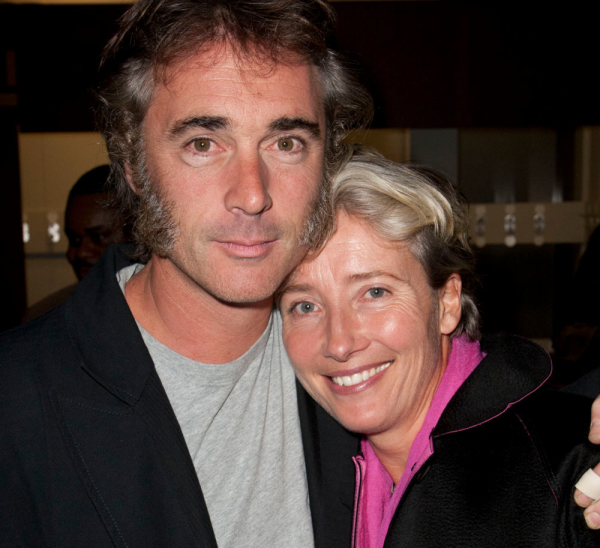 Greg Wise with his wife Emma Thompson in 2011