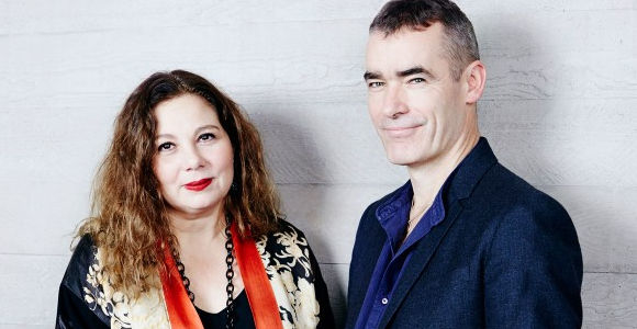 Tessa Ross and Rufus Norris