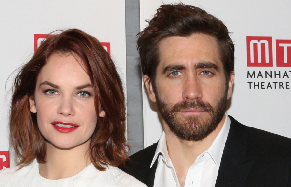 Ruth Wilson and Jake Gyllenhaal