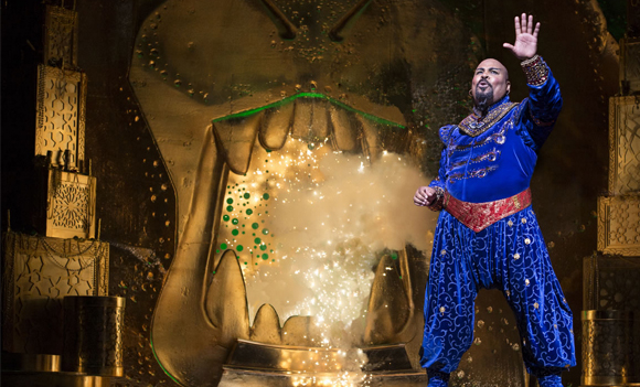 James Monroe Iglehart as Genie in Aladdin