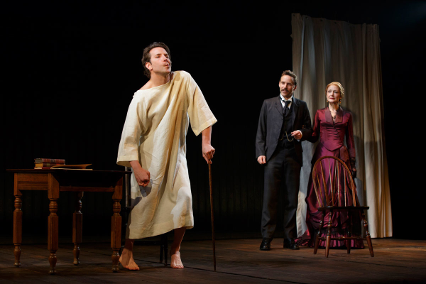 Bradley Cooper, Alessandro Nivola and Patricia Clarkson in the current Broadway production of The Elephant Man which is coming to London