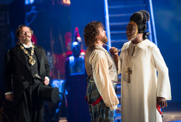 Terry Gilliam's production of Benvenuto Cellini was a critical and box office hit for ENO