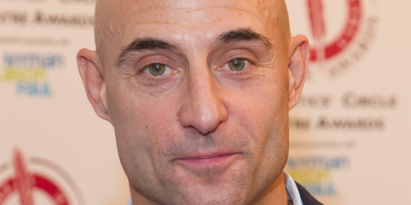 Mark Strong at the Critics' Circle Awards