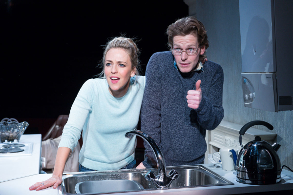 Miranda Raison and Shaun Evans in Hello/Goodbye