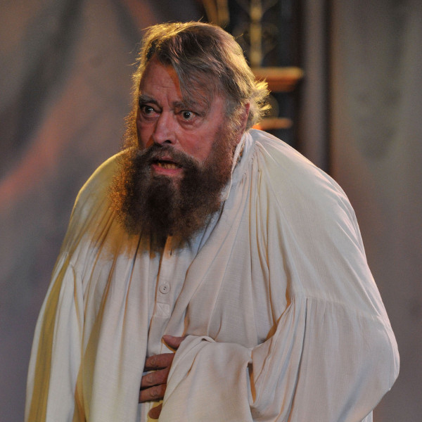 Brian Blessed has been forced to withdraw from King Lear