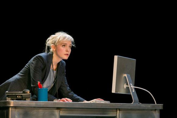 Taxing: Olivia Vinall as Hilary in Tom Stoppard's The Hard Problem
