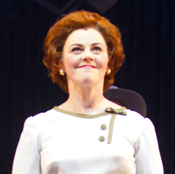 Sophie Louise Dann plays Barbara Castle in Made in Dagenham