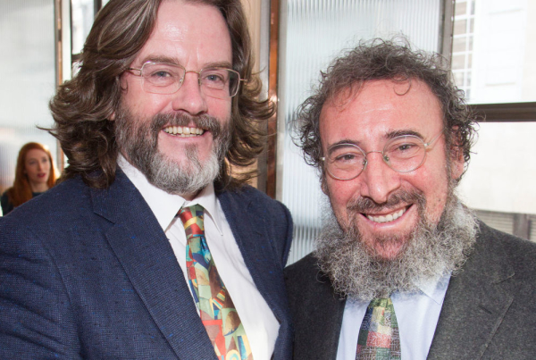 Gregory Doran and Antony Sher at the Critics' Circle Awards