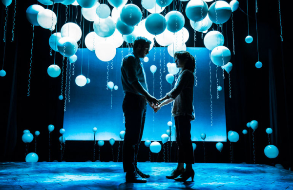 Rafe Spall and Sally Hawkins in the original production of Constellations