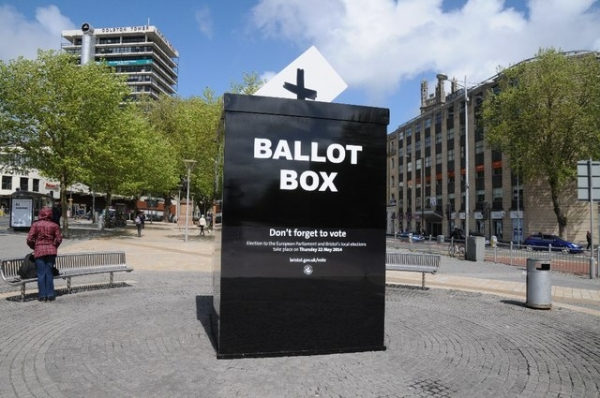 The General Election takes place on 7 May 2015
