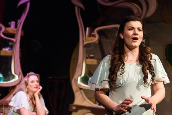 Emily Lynne and Charlotte Jaconelli in She Loves Me