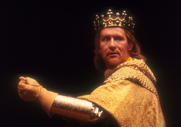 Alan Howard as Richard II in 1980
