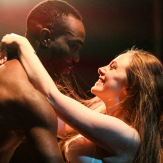 Paapa Essiedu and Daisy Whalley as the lovers
