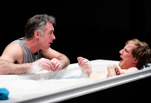 Greg Wise (Jake) and Oliver Gomm (Joey) in Kill Me Now