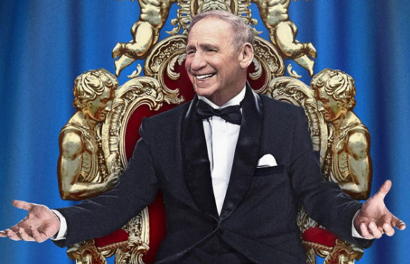 Publicity image for Mel Brooks Live in London