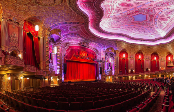 The newly renovated interior of Brooklyn's Kings Theatre