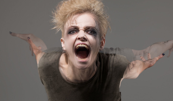 Maxine Peake in a publicity image for The Skriker