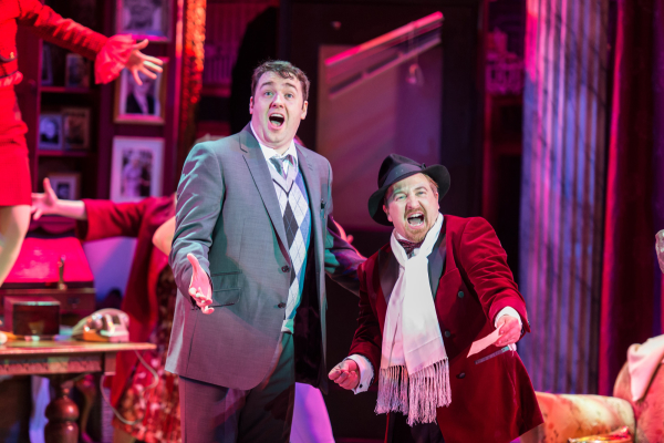 Jason Manford as Leo Bloom and Cory English as Max Bialystock