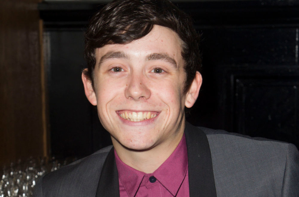 Chris Hardman at the West End premiere of Loserville in 2012