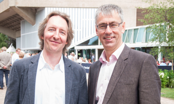 Jonathan Church and Alan Finch at Chichester Festival Theatre