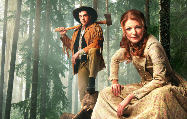 Alex Gaumond and Laura Pitt-Pulford star in Seven Brides for Seven Brothers